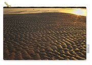 Ripples In The Sand Low Tide Golden Sunset Carry-all Pouch