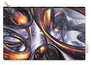 Rippling Fantasy Abstract Carry-all Pouch