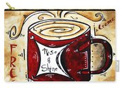 Rise And Shine Original Painting Madart Carry-all Pouch