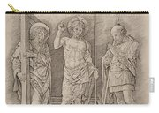 Risen Christ Between Saints Andrew And Longinus Carry-all Pouch