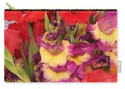 Rising Flowers Carry-all Pouch