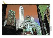 Rising High - New York Wall Street Skyline Carry-all Pouch
