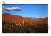 Rising Moon In Arizona Carry-all Pouch