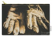 Rising Mummy Hands In Bandage Carry-all Pouch