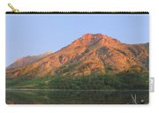 Rising Wolf Mountain At Dawn Carry-all Pouch