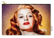 Rita Hayworth, Vintage Actress Carry-all Pouch