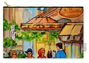 Ritz Carlton Montreal Sherbrooke Street Carry-all Pouch