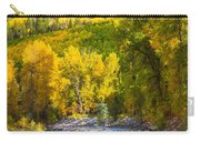 River And Aspens Carry-all Pouch