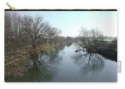 River At Marston On Dove Carry-all Pouch