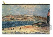 River Banks At Saint-mammes Carry-all Pouch