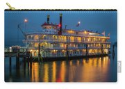 River Boat At Dusk Carry-all Pouch