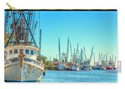 Darien Shrimp Boats Carry-all Pouch