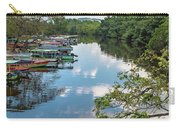 River Boats Docked Carry-all Pouch
