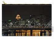 Ohio River Bridges And Louisville Skyline Carry-all Pouch