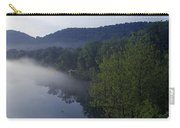 River Flowing In A Forest Carry-all Pouch