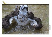 River Hawk Splashing Around In The Water Carry-all Pouch
