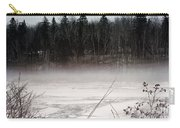 River Ice And Steam Carry-all Pouch