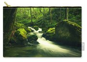 River In A Green Forest Carry-all Pouch