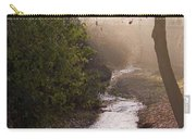 River In Afternoon Sunhaze  Carry-all Pouch