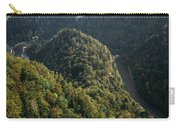 River In Forest Mountains Carry-all Pouch