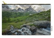 River In The French Alps Carry-all Pouch