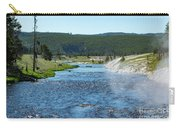 River In Yellowstone Carry-all Pouch