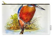 River Kingfisher Carry-all Pouch