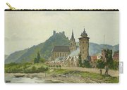 River Landscape Of The Rhine Carry-all Pouch