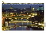 River Liffey Bridges, Dublin, Ireland Carry-all Pouch