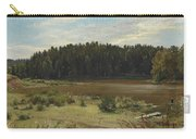 River On The Edge Of A Wood Carry-all Pouch