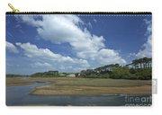 River Otter Estuary,  Budleigh Salterton, Devon, Southwest England, Uk Gb Carry-all Pouch
