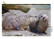 River Otters Carry-all Pouch