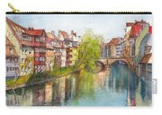River Pegnitz In Nuremberg Old Town Germany Carry-all Pouch