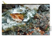 River Rock Leaves Carry-all Pouch