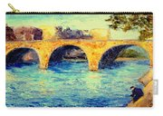 River Seine Bridge Carry-all Pouch