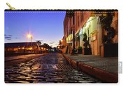 River Street At Dusk Carry-all Pouch