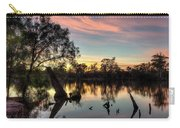 River Sunrise Carry-all Pouch