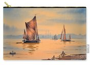 River Thames At Greenwich London Carry-all Pouch