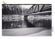 River View B And W Carry-all Pouch