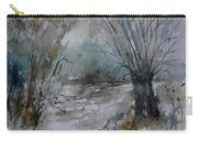River Watercolor 711082 Carry-all Pouch