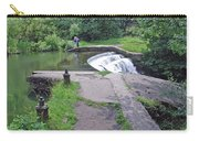 River Wye Weir Carry-all Pouch