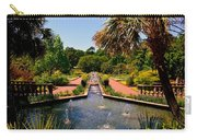 Botanical Gardens Carry-all Pouch by Lisa Wooten