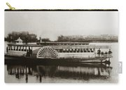 Riverboat  Mayflower Of Plymouth   Susquehanna River Near Wilkes Barre Pennsylvania Late 1800s Carry-all Pouch