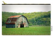 Riverbottom Barn In Spring Carry-all Pouch