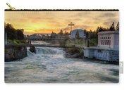 Riverfront Park Sunrise Carry-all Pouch