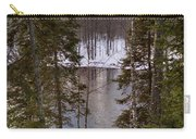 River's Winter Pine Carry-all Pouch