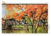 Riverwalk Covered Bridge Carry-all Pouch