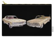 Riviera And Impala 1965 And 1959 Carry-all Pouch