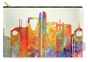 Riyadh Landmarks Watercolor Poster Carry-all Pouch