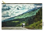 Road Alaska Bicycle  Carry-all Pouch